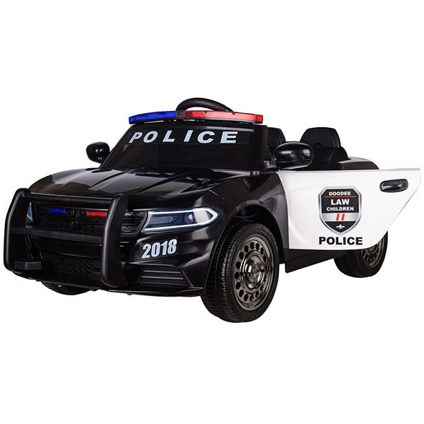 Kids battery operated car police newest ride on car children car 2019