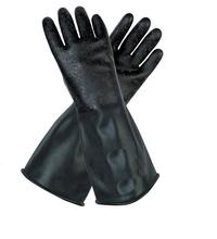Butyl Rubber Glvs Chemical Resistant hand safety and protection against hazardous chemicals in labs, Household, Industry