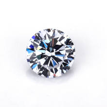 Starsgem wuzhou round cz gem stone european machine cut 0.9mm cz for waxing jewelry