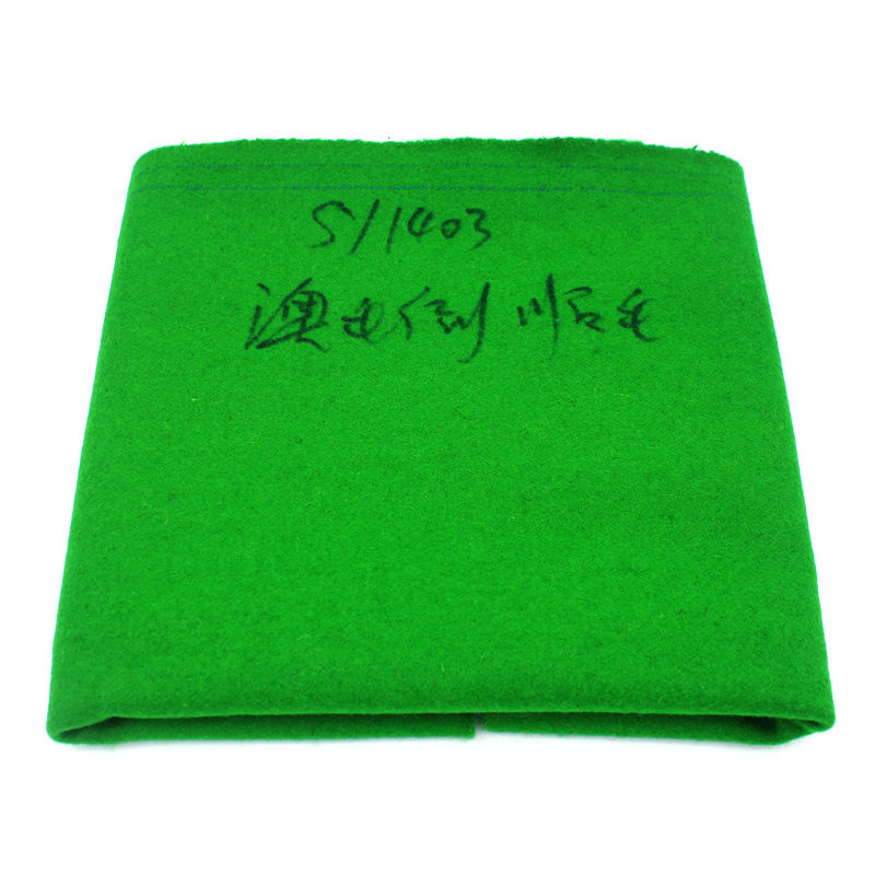 Superior Quality 70% Woolen 12ft Billiard Snooker Table Cloth Felt