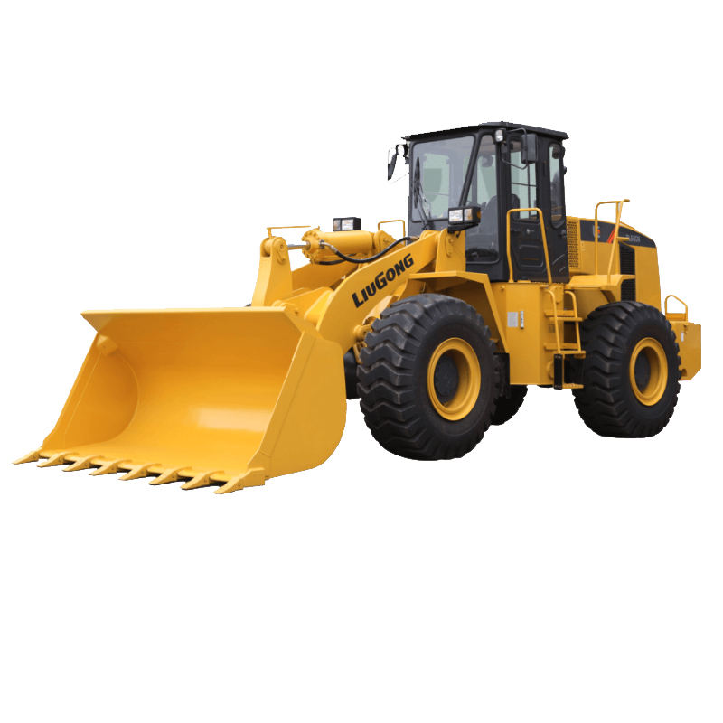 Popular liugong 5t 3cbm bucket zl50 front end wheel loader zl50cn factory price for sale