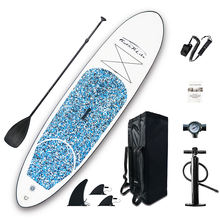 Inflatable Stand Up Paddle Boards Surfing Beach Ocean Board with Removable Fins Great Beginner Board for Kids Adults body board