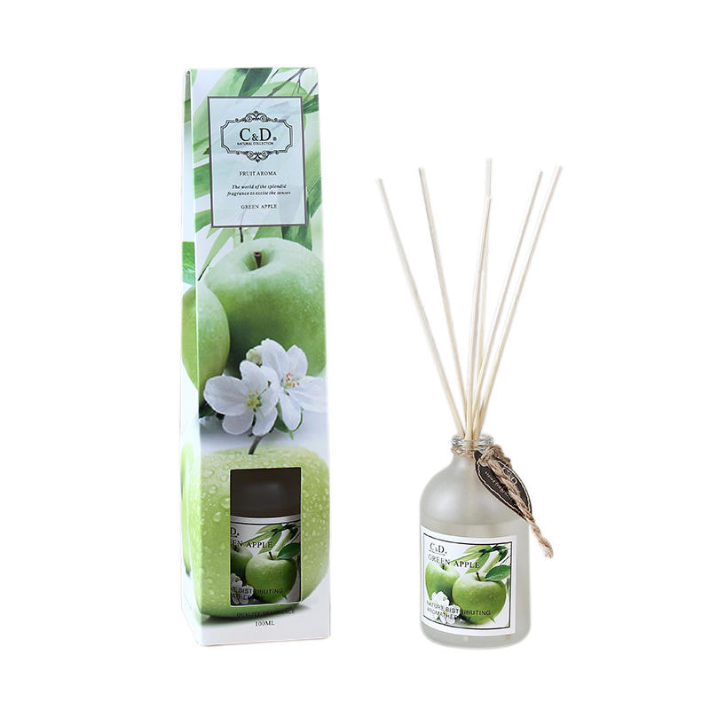 C&D 180ml Factory supply various artificial flowers home office bedroom reed diffuser incense sticks