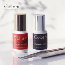 Gollee OEM Professional 1 S Fast Drying Latex Free Lash Extensions Glue Korea