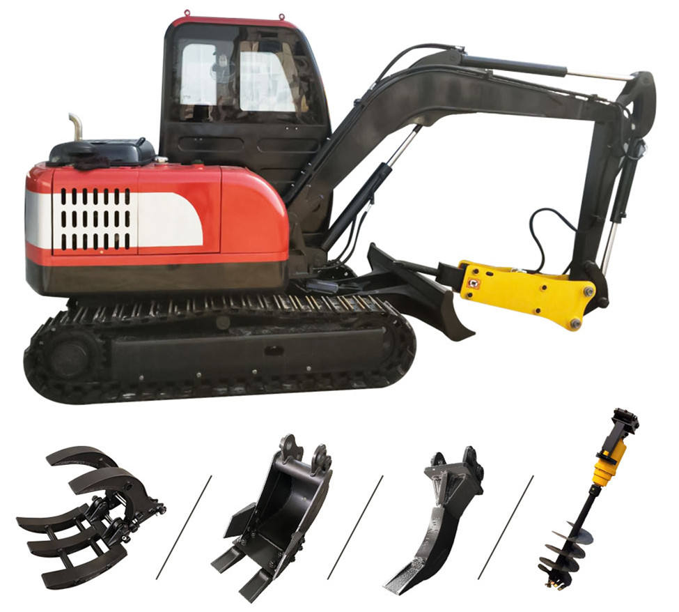Top Ranking Cheap 1 Ton Excavator Digger Chinese Manufacturer Hydraulic Mini Excavator For Sale Prices