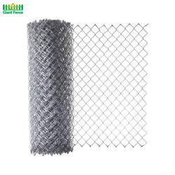 Wholesale Prices China Galvanized 6ft Panel Used Chain Link Fence For Sale