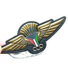 Military Air Force Embroidery Silicone Cap Patches