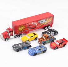 Pixar Cars 2 3 Jackson Storm Ramirez Mater Truck 1:55 Diecast Metal Alloy Model Car Birthday Gift Boy Toys