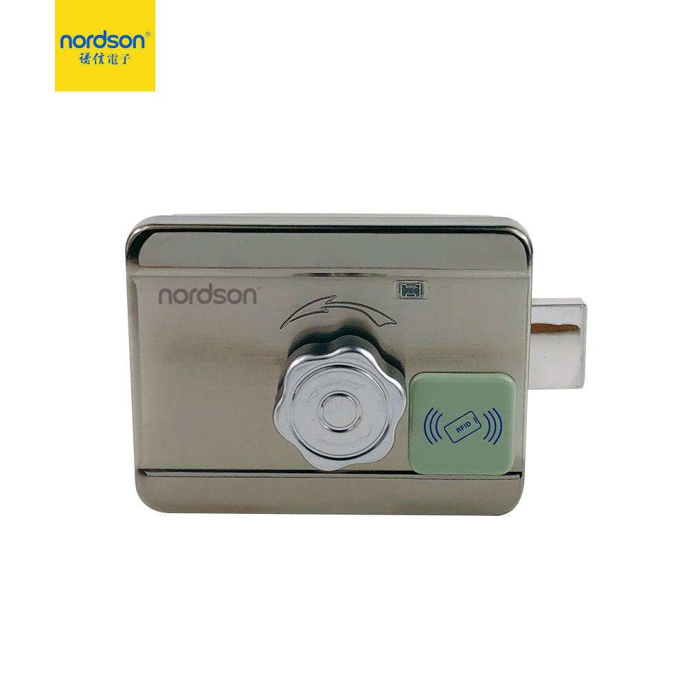 Brass Deadbolt Remote Control Available Mechanical Combination Motor Electric Rim Lock