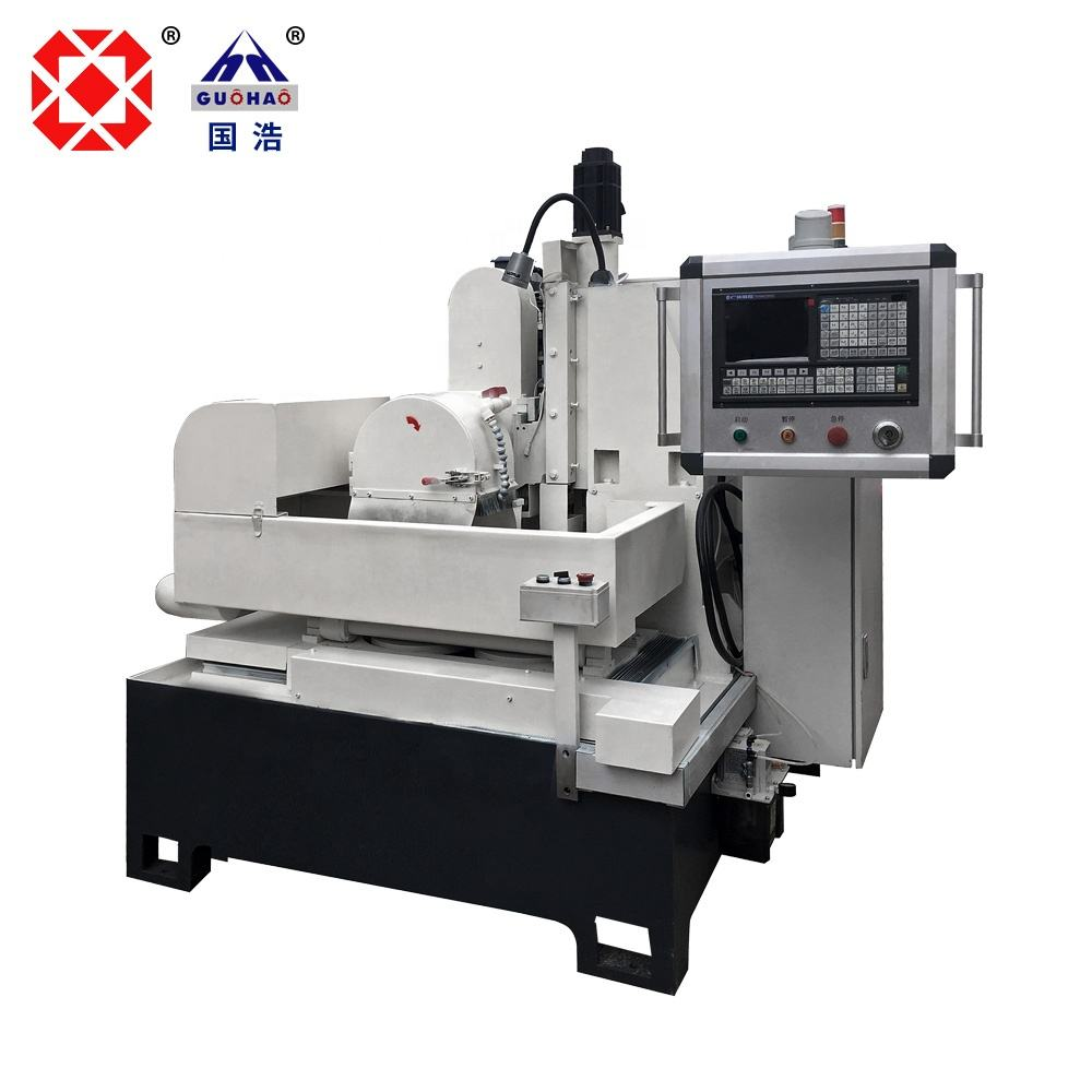 GH-352P CNC double rotary table knife grinding machine/ Knife Grinder for high precision required workpieces