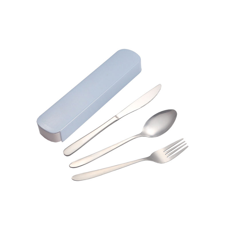 Portable High Quality Western Tableware Set Knife Fork Spoon Cutlery Flatware