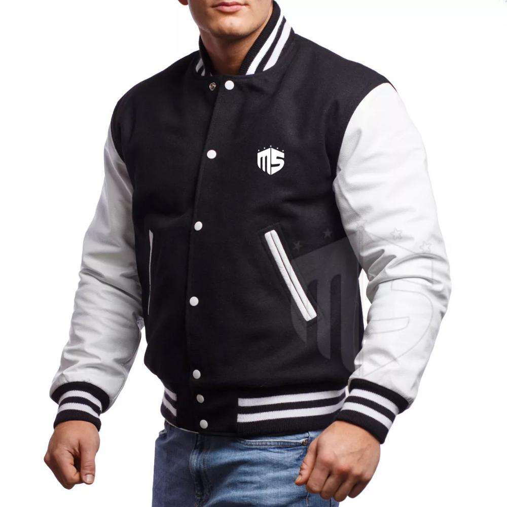 OEM wholesale Apparels custom Logo & Patch Label varsity jacket wholesale american football Sports team Bomber jackets