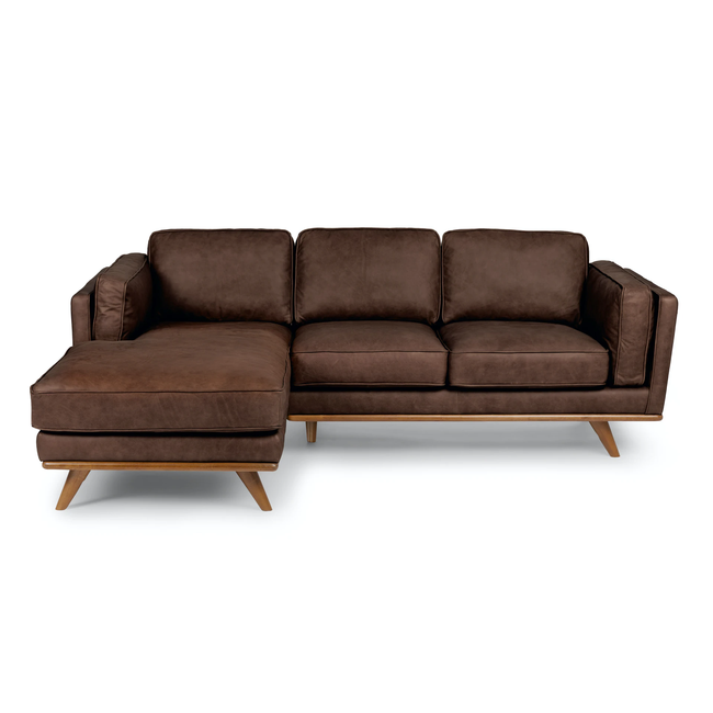 Modern Sofa Set Furniture Leather Living Room Brown Bedroom Sofas Factory Made