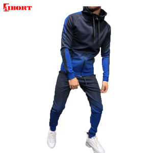 2020 Mens Clothes Tracksuits Wholesale Custom Gym Blank Tracksuit Set
