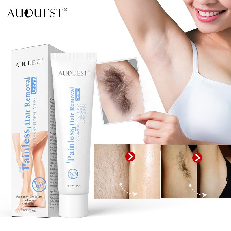 OEM/Private Label Painless Hair Removal Organic Cream for Face or all Body Hair Remove Spray