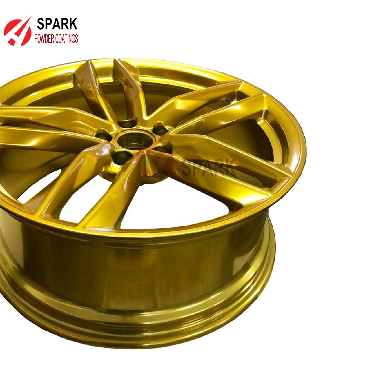 Gold Chrome Powder coatings