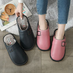 Hot Selling High Quality Simple Cotton slippers Waterproof P