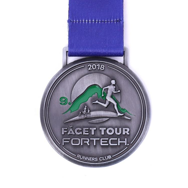 Promotion Running Finisher Fun Run Champion Facet Tour Runners Club Medal Sport Metal Enamel 3D Competition Medallas Medals