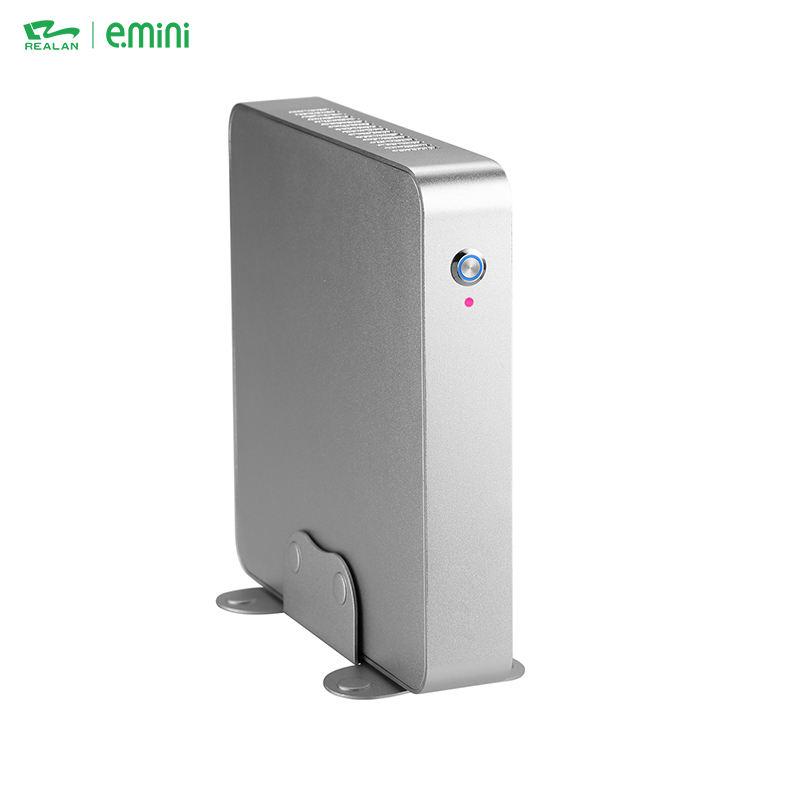 <span class=keywords><strong>Offre</strong></span> Spéciale x86 2 ethernet ventilateur Intel Celeron 3865U Dual Core Ordinateur Embarqué Mini PC