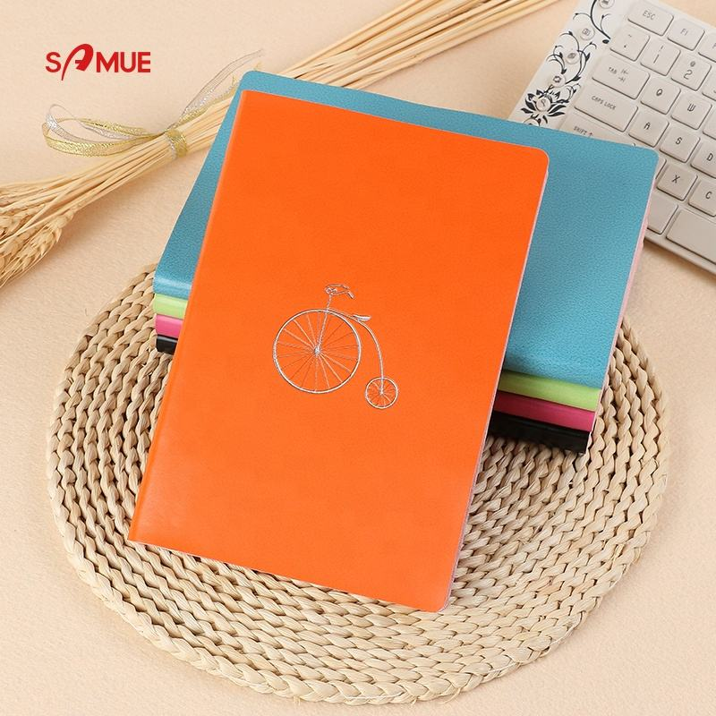 A4 A5 Binder hologram pvc allochroic cover notebook with bookmark