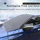 Car Cover Car Accessories Magnetic Car Windshield Snow Cover Car Front Shield With Hook And Rearview Mirror Cover