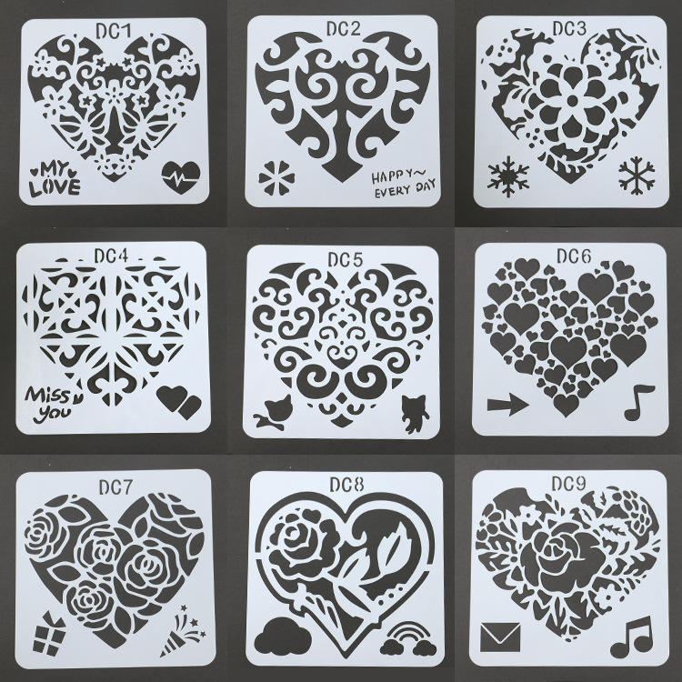 Laser Cut Painting Stencil Wall Tile Wood Plastic Stencils,Plastic Wall Floor Stencil