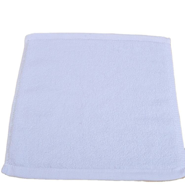 Cheap disposable airline 100 cotton small face towel
