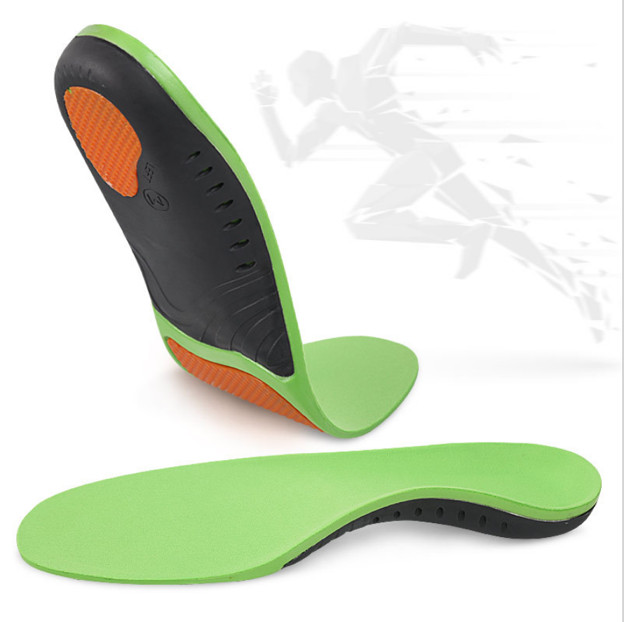 Plantar Fasciitis Inserts Insole Orthotics Sports Comfort Shoes Insole High Arch Replacement Shoe Insole
