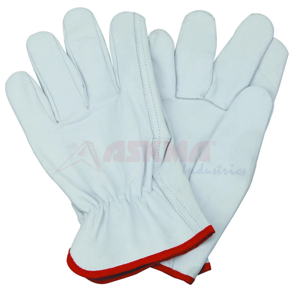Top Grain Goatskin Leather Drivers Gloves Straight thumb and Gunn Cut