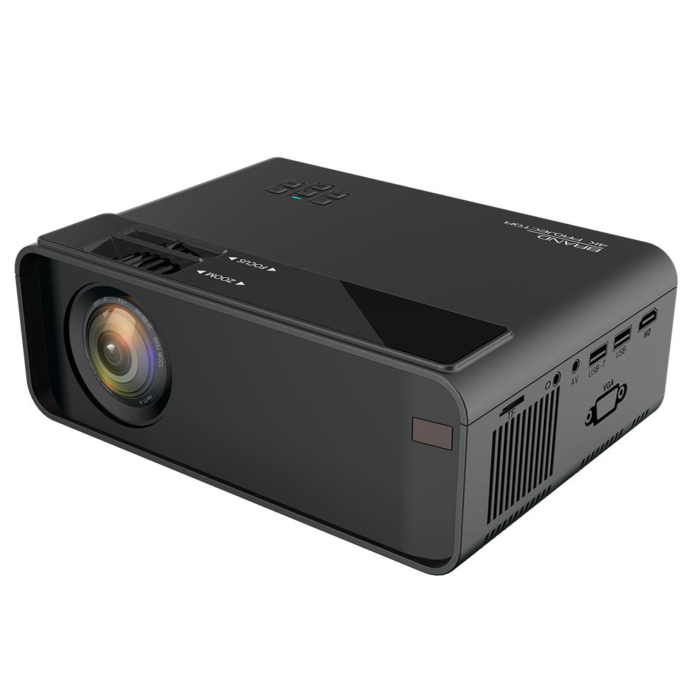 2020 new product mini projector 1080p full hd 3800 lumens home theatre image projectors multimedia portable beamer