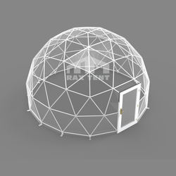 Wholesale igloo dome tent 3M to 6M diameter transparent igloo tent for gazebo tent house