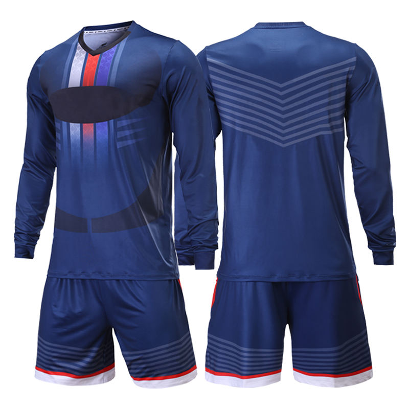 Wholesale Design Unique Quick Dry Breathable Football Uniform Goalkeeper Jersey Soccer Wear