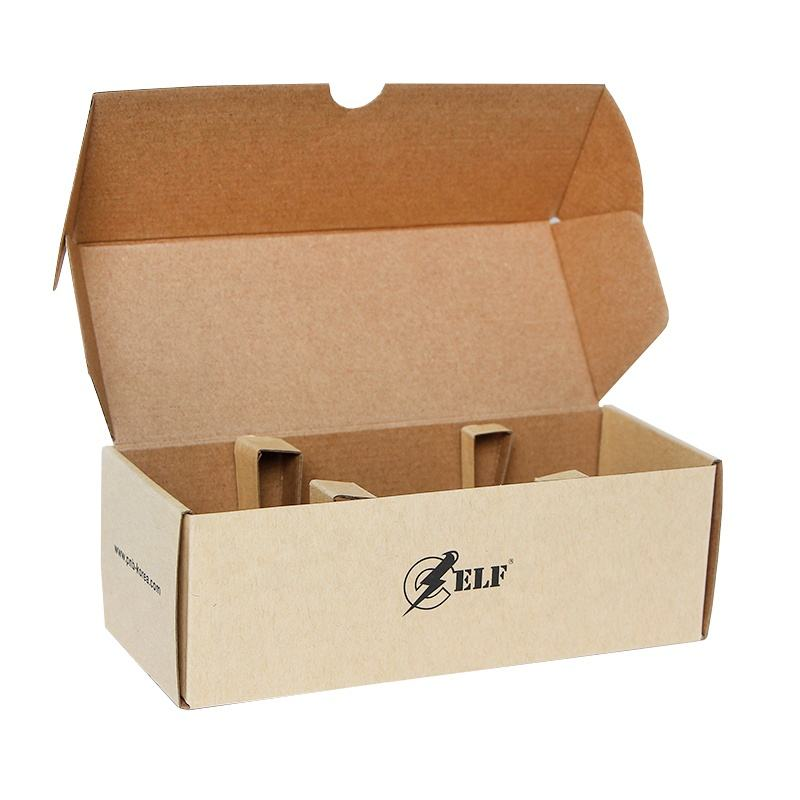 Custom Eco friendly nature brown kraft paper aircraft box package with paper inner shipping carton customized cheaper packaging
