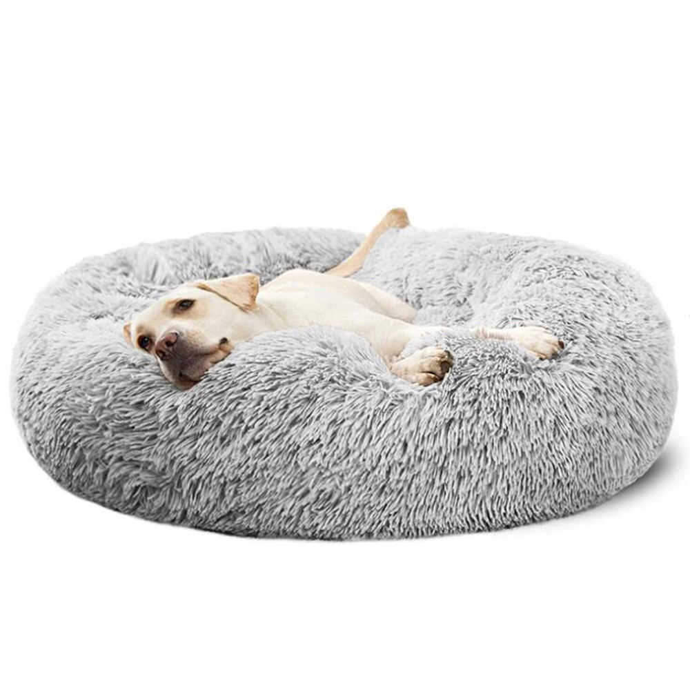 Dog Beds Suppliers Small Medium Large Dogs Ultra Soft Calming Bed, Indoor Machine Washable Luxury Pet Bed.