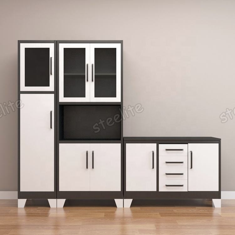 Luoayng Factory Kitchen Cabinet Pantry Unit /Kitchen Cabinets Wall Units/ Metal Kitchen Cabinet