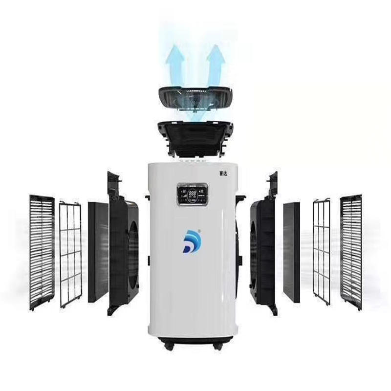 Mobile Ultraviolet air sterilizer Dental office hospital air disinfection