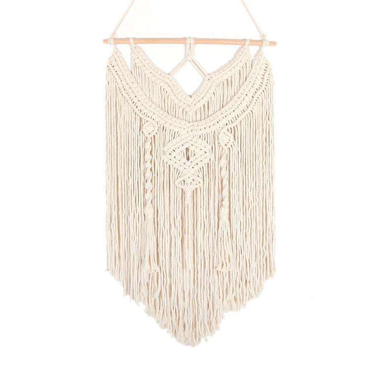 Bohemian Macrame Wall Hanging Curtain Tapestry Used for family apartment dormitory kindergarten party decoration