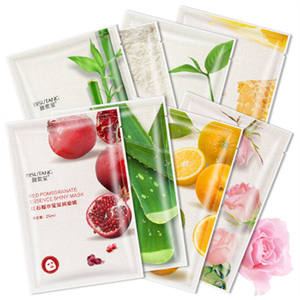 Wholesale Private Label Oem Sheet Organic Facial Whitening Hydrating Face Mask Mascarillas Facial