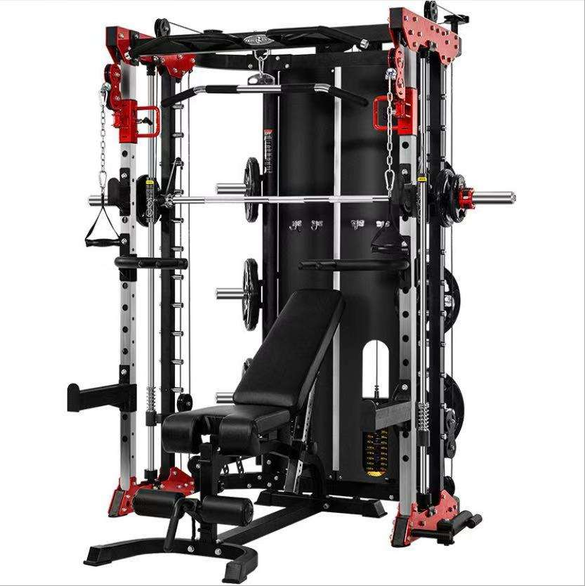 commercial use fitness equipment Functional Trainer Smith Machine Squat Rack Multi functional machine XR1001