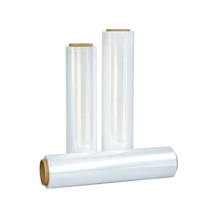 PE Hand And Machine Use Pallet Wrap Strech Film Roll