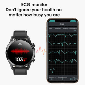 L13C Bluetooth Calling Android IOS Smart Watch 2020 ECG Heart Rate Blood Pressure Oxygen IP68 Smartwatches