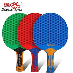 Doublefish plastic table tennis racket pingpong racket waterproof table tennis bat for entertainment