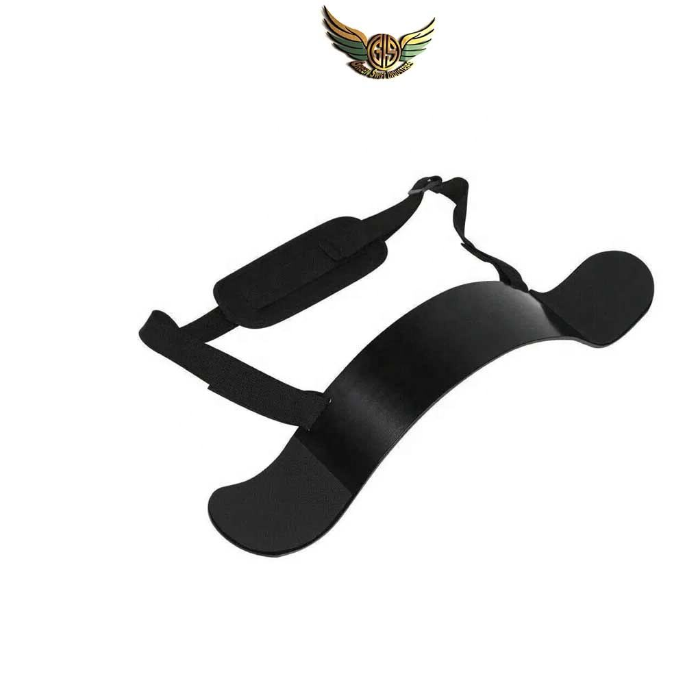 Heavy Duty Gym Arm Blaster Support for Biceps and Triceps Workout Ideal Bicep Muscle Builder By GREEN SWIFT INDUSTRIES