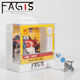 Fagis super cool light h7 12v 55w car xenon lamp headlight auto halogen bulb
