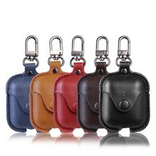2020 Custom  Protective Case Cover Luxury Leather Case For Airpod