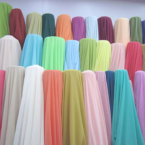 Wholesale Factory Price 100% Polyester Chiffon Fabric For Dress