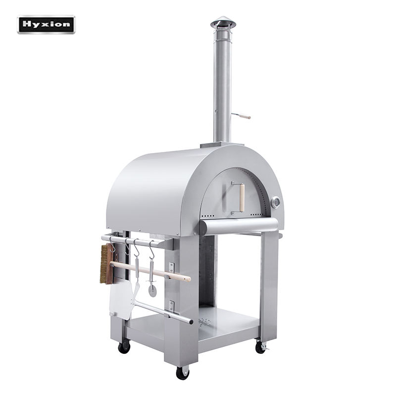 HPO01SS pizza oven with refractory stone floor