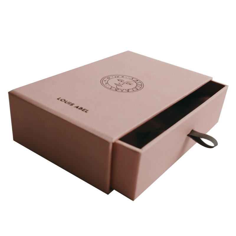 Factory direct christmas drawer jewelry box packaging