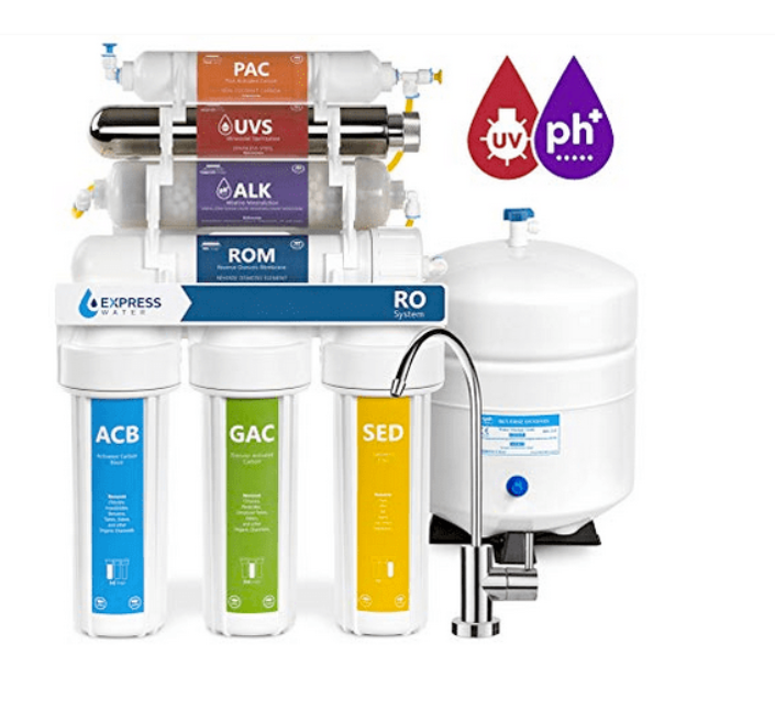 APEC Top Tier Alkaline Mineral pH+ 75 GPD 6 Stage Ultra Safe Reverse Osmosis Water Filter System