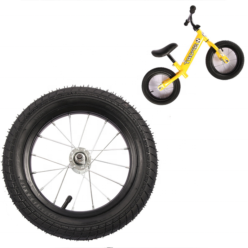Factory Low Price Guaranteed 12 1/2x2 1/4 children bicycle pu foam flat free wheel for kids bike /kids balance bike wheel